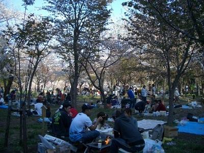 golden week in maruyama park