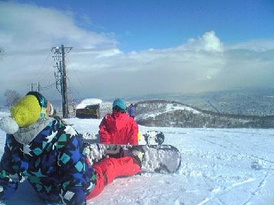 hokkaido skiing in teine