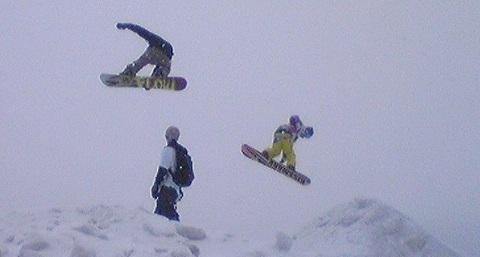 jumping at nakayama toge
