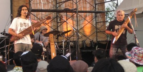 oki dub ainu at rising sun rock festival