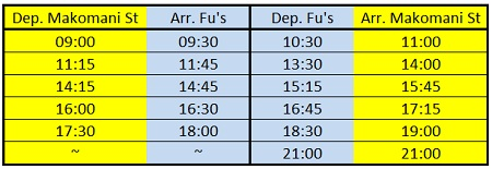 fu's bus times