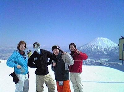 take a snowcam to niseko