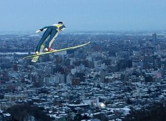1972 winter olympics ski jumper