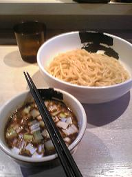Noodles and soup separated