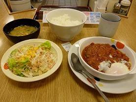 matsuya hamburg steak sapporo japan