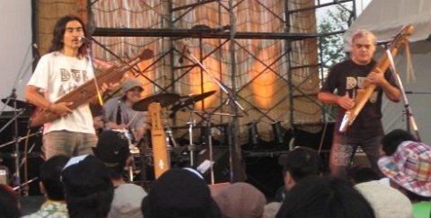oki dub ainu at rising sun rock festival
