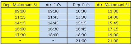 fu's bus times